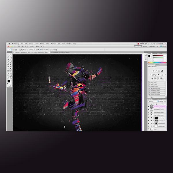 Curso Online Photoshop Manipulação Abstrata