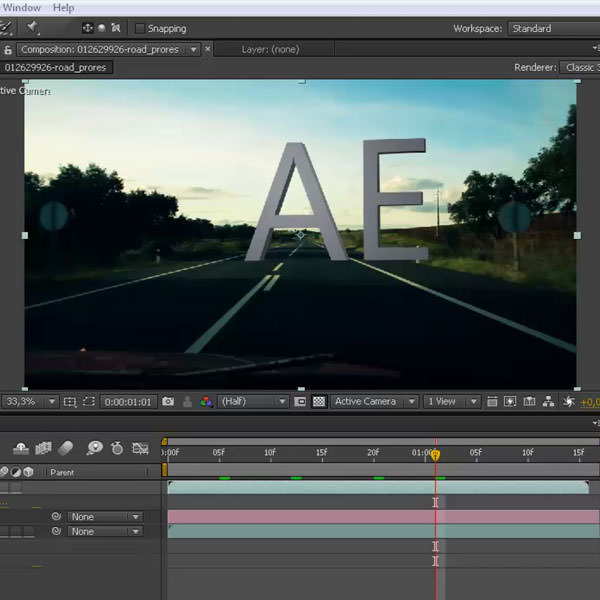 Curso Online After Effects CC 3D com Cinema 4D